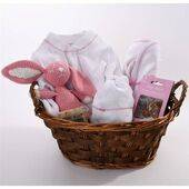 Baby Girl Gift Baskets - Pure Layette - Pink