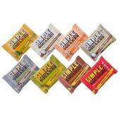 ORGANIC PROTEIN BAR - SAMPLER - BOX OF 12