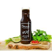 Corine's Cuisine Sauce No. 28 — 8 oz — Spicy Asian BBQ & Stir-Fry Sauce — For Marinating, Seasoning & Cooking