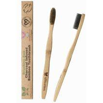 Herbs & Bees - BRUSHING BEE ACTIVATED CHARCOAL TOOTHBRUSH