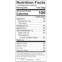 Toosum Gluten-Free Oatmeal Bar - Cranberry & Acai (10-bar carton)