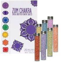 Natural Bath Salts Gift Set - Chakra Salts - Shea Butter