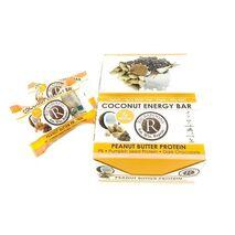 Rickaroons Coconut Energy Bar - Peanut Butter Protein - 1 Dozen