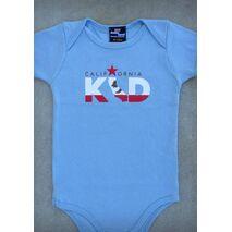 CALIFORNIA KID – CALIFORNIA BABY BOY BLACK & BABY BLUE ONEPIECE & T-SHIRT