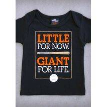 LITTLE GIANT (SAN FRANCISCO GIANTS) – BABY BLACK ONEPIECE & T-SHIRT