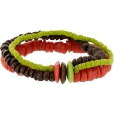 fair trade bracelet Diversity Bracelet - Watermelon