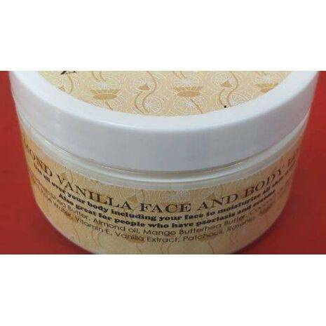 Almond Vanilla Face and Body Lotion