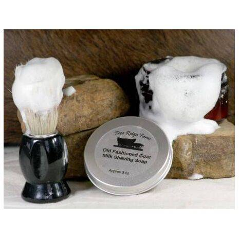 Old Fashioned Shaving Soap & Brush