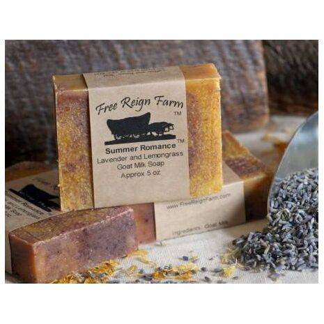 Lavender & Lemongrass Goat Milk Soap