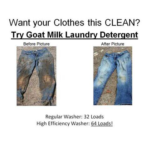 Goat Milk Laundry Soap