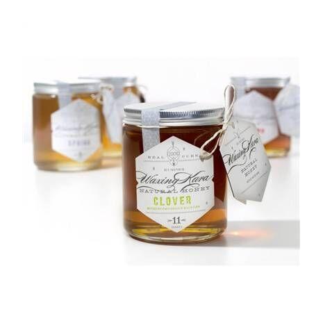 100% Pure Raw Honey - Clover - 11 oz